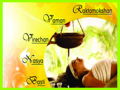 Panchakarma-detoxification process of Ayurveda